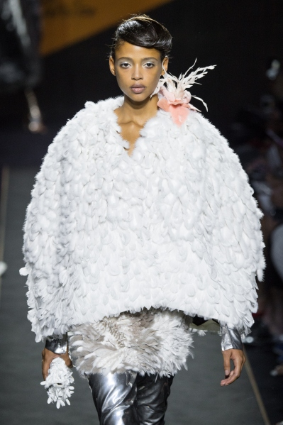 A Fendi fur look (Photo: Getty Images)