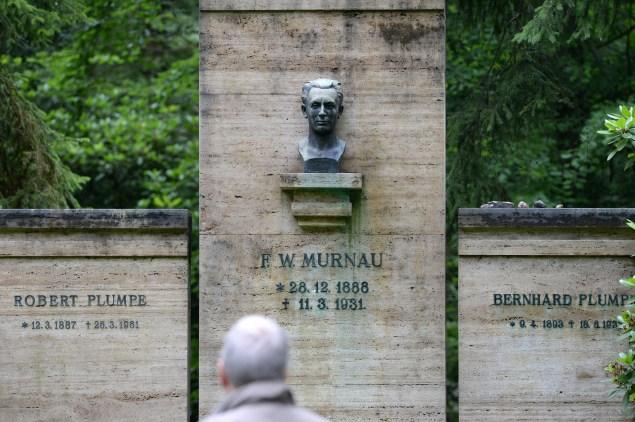 F.W. Murnau's grave outside Berlin.