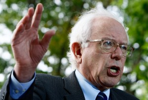 Sen. Bernie Sanders (I-VT) speaks at a news conference presenting petitions to Congress signed by more than a hundred thousand seniors nationwide September 30, 2009 in Washington, DC. The petitions urge passage by Congress of a $250 one-time Cost of Living Adjustment Payment in 2010.  (Win McNamee/Getty Images)