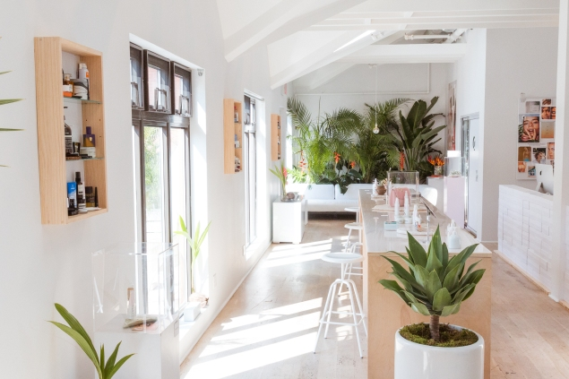 The Glossier Summer Fridays Showroom (Photo: Courtesy)