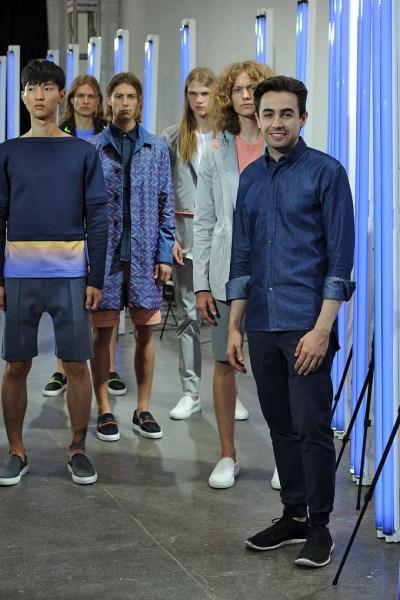 Garciavelez New York Menswear Spring Summer 2016 - July 2015