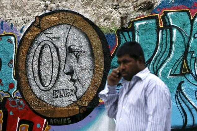 Greece Bailout Graffiti