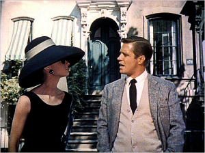 Aforementioned olive-green doors making their debut in Breakfast at Tiffany's.