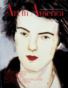 A 2009 cover of Art in America featuring a portrait by artist Elizabeth Peyton. (Courtesy Brant Publications)