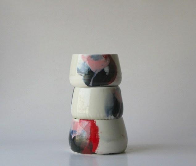 Jennie Jieun Lee teacups. (Photo: Courtesy of Mr. Kitly in Brunswick, Australia)
