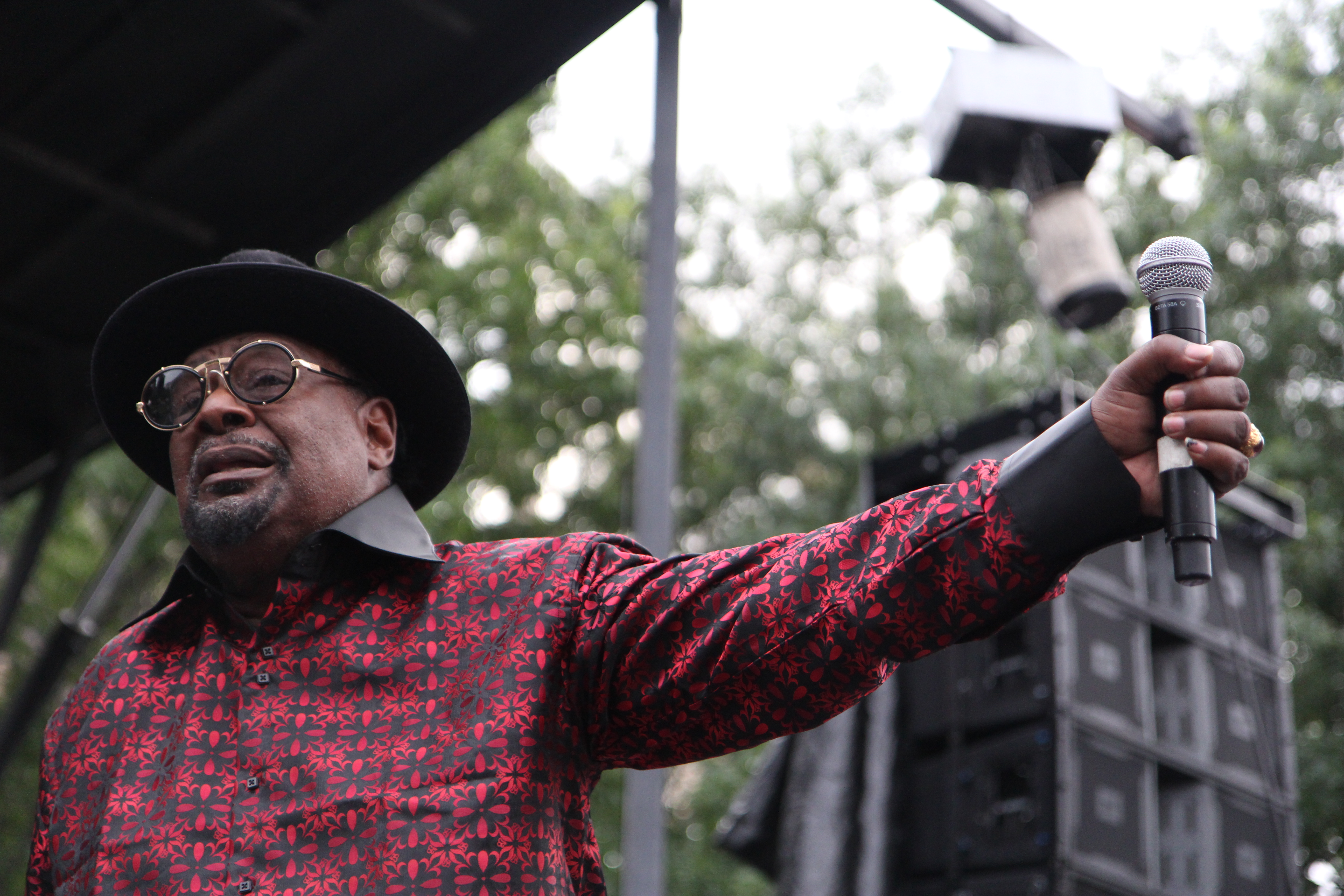 George Clinton brings the funk to Queensbridge Park on July 15, 2015
