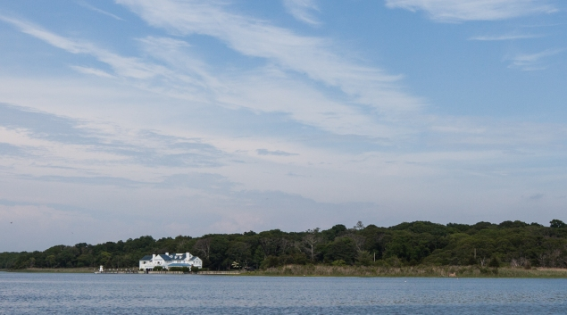 Perfect Beach House on Sabonac Inlet Rd. Tuckahoe. (Photo: Emily Assiran/New York Observer)