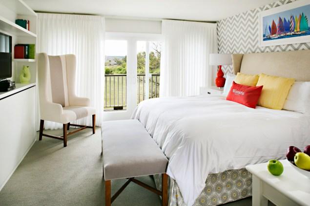 A room at the Winnetu. (Photo: Winnetu)