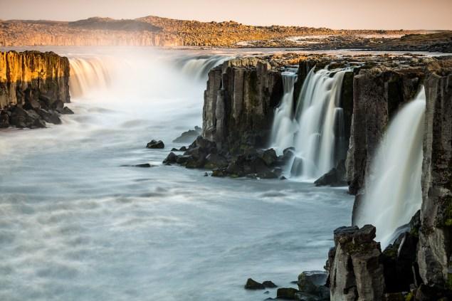 Icelandic waterfalls. (Photo: Bernhard Wimmer)