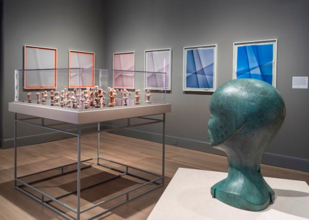 """Installation view of the exhibition """"Repetition and Difference,"""" on view at The Jewish Museum. (Photo: David Heald)"""