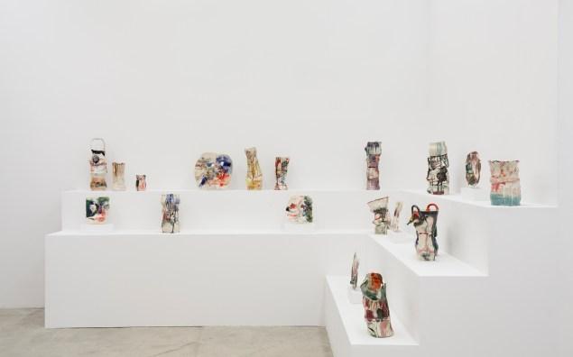 View of Jennie Jieun Lee's exhibition 'Mrs. Thompson's Mirror' at Martos Gallery. (Photo: Courtesy of Martos Gallery)