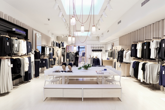 The interior of Kit and Ace's Nolita Store. (Photo: Kit and Ace)