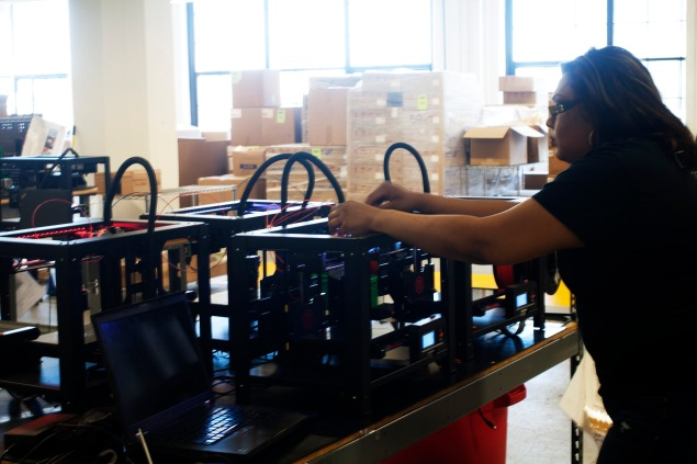 Makerbot in Industry City