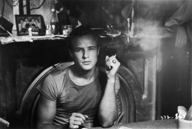 Marlon Brando in A Streetcar Named Desire, Warner Bros. 1951. An archival still from the Showtime documentary Listen To Me Marlon. (Photo: Courtesy of Showtime)