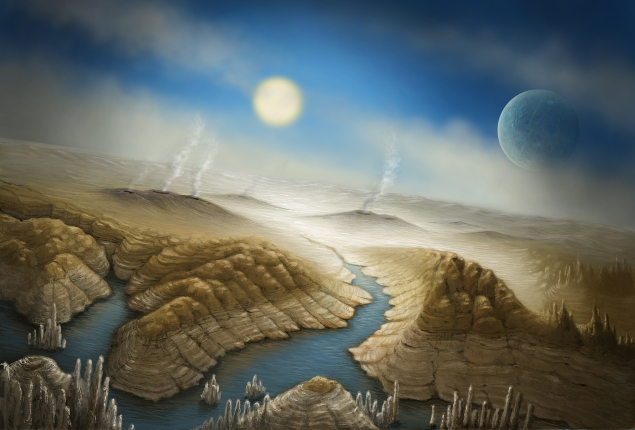 Artist impression of the surface of the Earth-like Kepler 452b (Photo: SETI Institute)