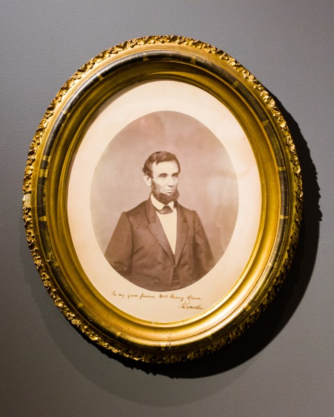 Lincoln Imagery from Soul-Lit Shadows (Photo Courtesy of Milk Gallery)