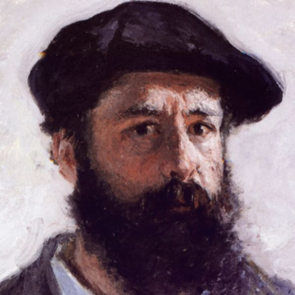 Claude Monet, detail from Self-portrait with beret, 1886 (Courtesy: Wikipedia)