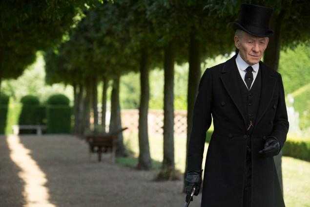 Sir Ian McKellen in Mr. Holmes.