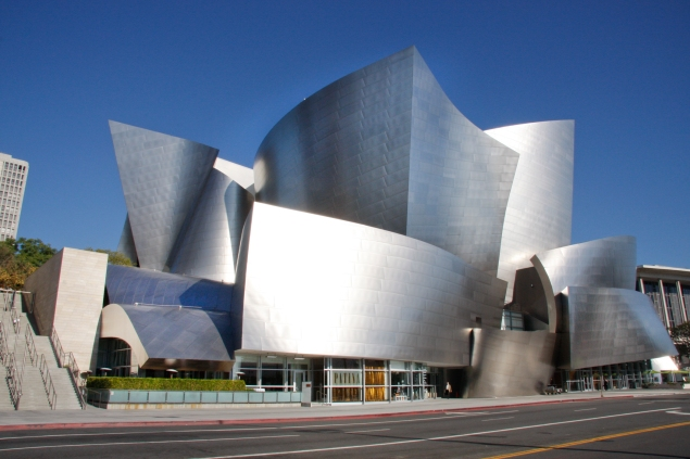 Patina_Restaurant & Walt Disney Concert Hall