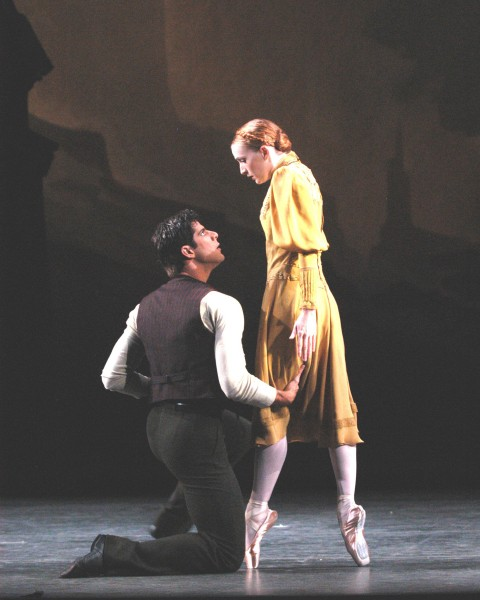 Gillian Murphy and Marcelo Gomes in Pillar of Fire. (Photo: Marty Sohl)