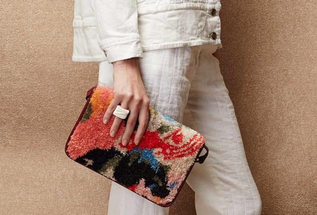 A Jennie Jieun Lee bag. (Photo: Courtesy of Rachel Comey)