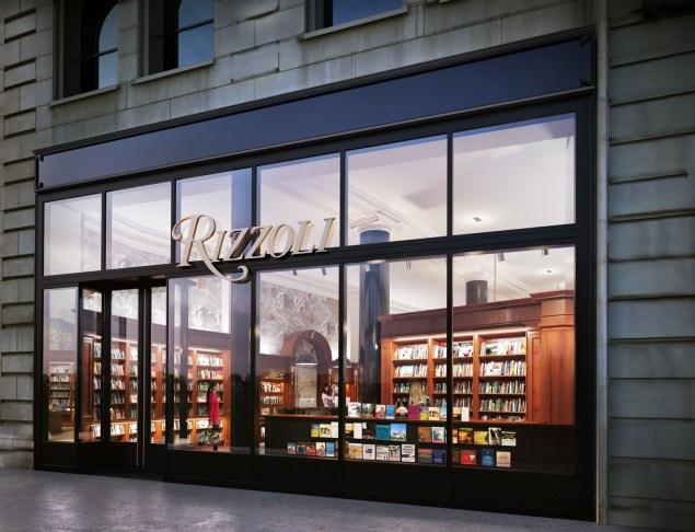 The storefront of Rizzoli's new 1133 Broadway location. (Photo: Rizzolibookstore.com)