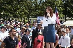 Roz Rothstein StandWithUs Iran LA Rally (1)