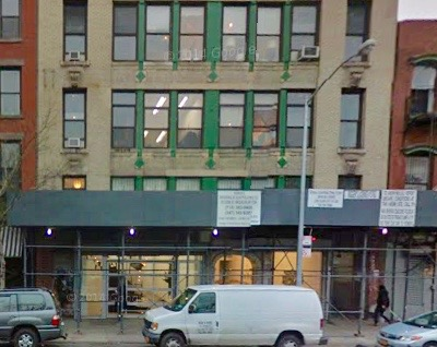 11R will occupy the space to the right in the building on 195 Chrystie Street, and CRG Gallery will be to the left.