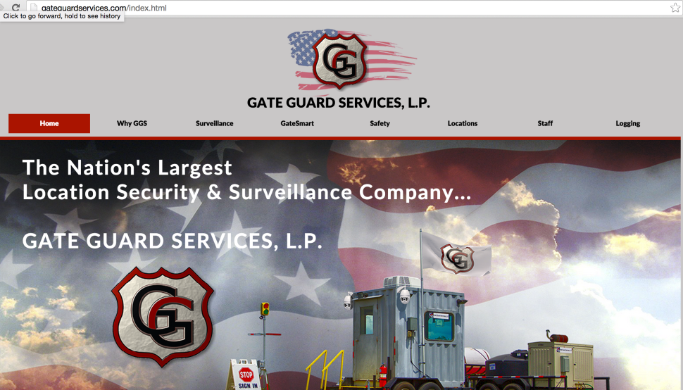 Texas security company Gate Guard was nearly bankrupted by a Dept of Labor investigation that a court has ruled was 'frivolous' and involved 'ambushing.' (Screenshot)