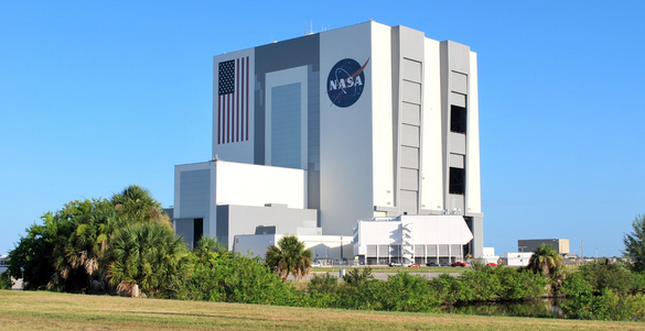 The NASA Vehicle Assembly Building. (Photo: Robin Seemangal)