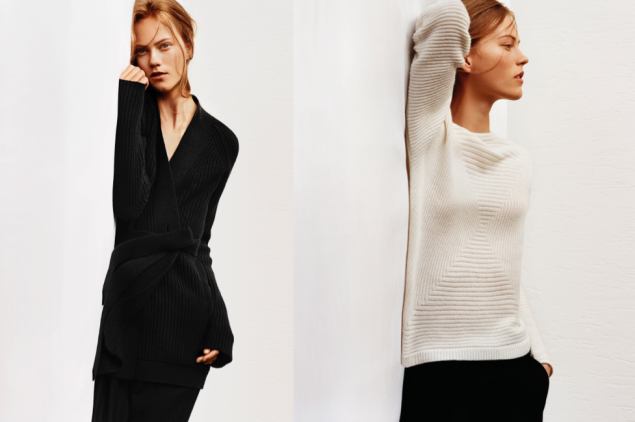 Two sweaters from Uniqlo x Lemaire (Photos: Courtesy)