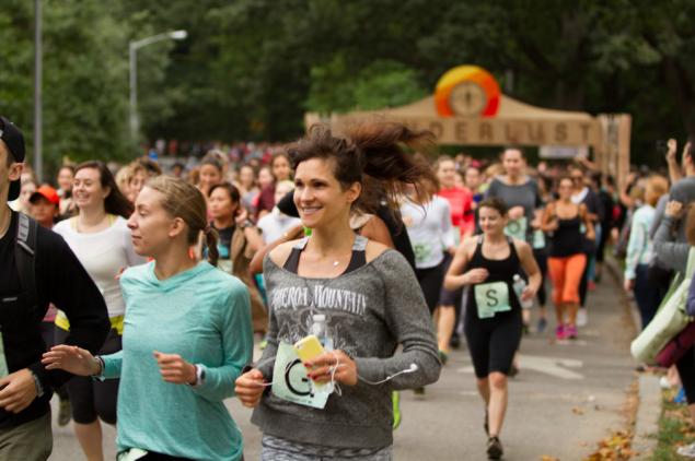 Runners at the 2014 Wanderlust Mindful Triathlon. (Photo: Flickr/Wanderlust Festival)