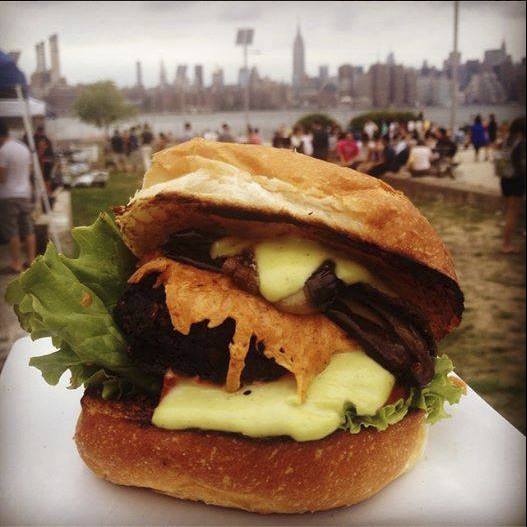 Chickpea and Olive's Calexico Burger. (Photo: Facebook/Chickpea and Olive)