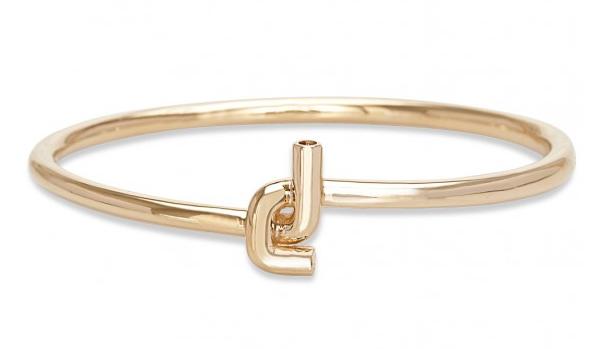 JVDF Men's Gold Knot Bracelet, $4,500, JustOneEye.com