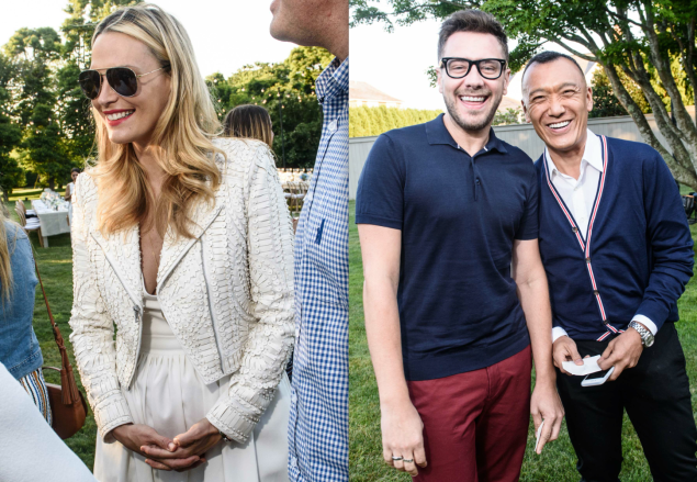 Guests included Molly Sims, Rob Younkers and Joe Zee. (Photos: Hannah Thomson)