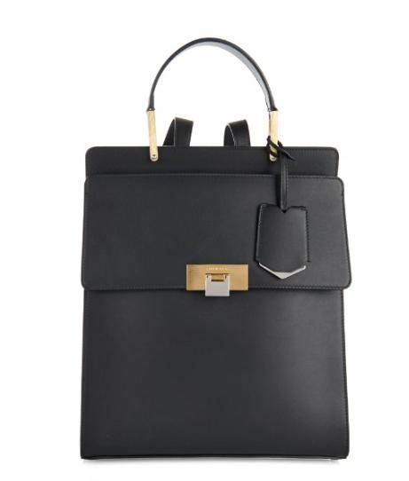 Balenciaga Le Dix Leather Backpack, $1,935, MatchesFashion.com