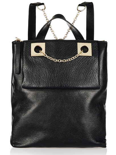 See by Chloé Hailey Textured-Leather Backpack, $705, Net-A-Porter.com