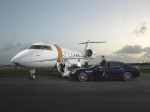 JetSmarter lets users order on-demand private jets. (Photo: JetSmarter)