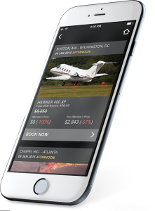 JetSmarter's app. (Photo: JetSmarter)