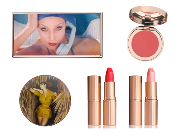 A selection of the makeup from the Charlotte Tilbury x Norman Parkinson collection (Photos: Courtesy)