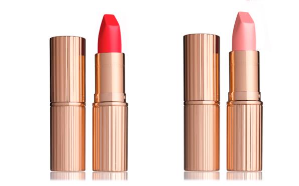 Matte Revolution Lipstick in Red 1975 and Miss Kensington, $35, BergdorfGoodman.com (Photos: Courtesy)