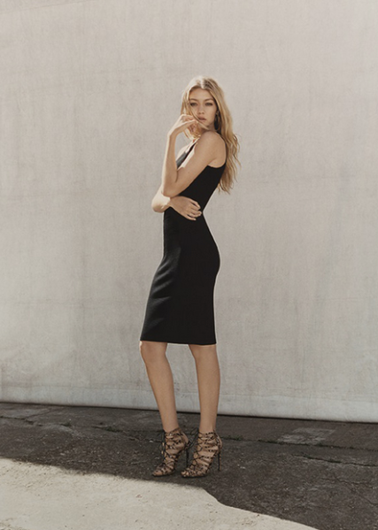 Gigi Hadid for Topshop (Photo by Tyrone Lebon for Topshop)