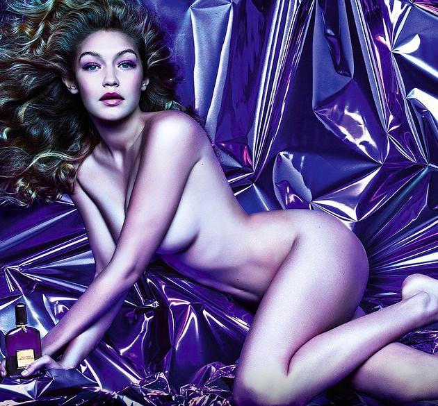 Gigi Hadid for Tom Ford's Fragrance, Velvet Orchid (Photo: via Tom Ford Official Instagram)