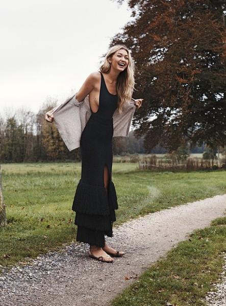 Gigi Hadid for Vogue Spain (Photo: via Vogue Spain Official Instagram)