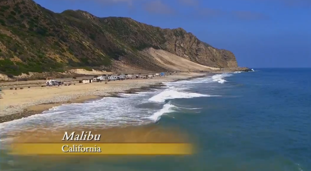 30 minutes from the Bachelor mansion. (Photo: ABC)