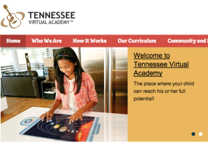 Tennessee Virtual Academy website
