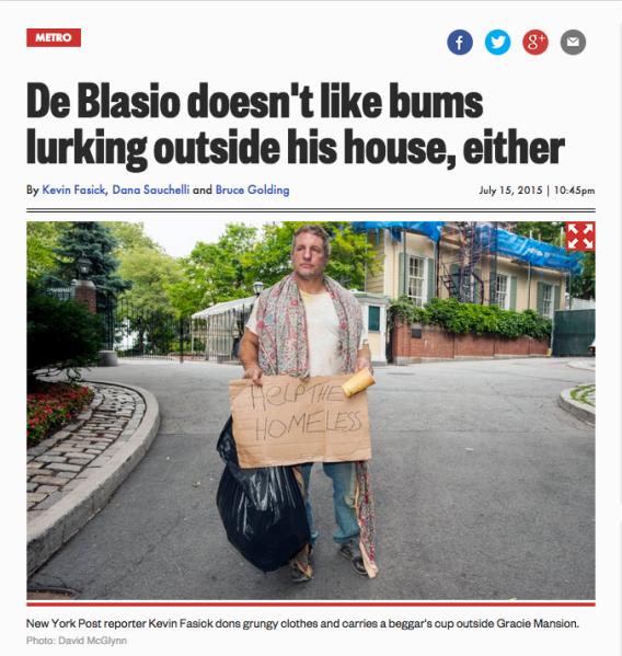 Homeless Post Reporter