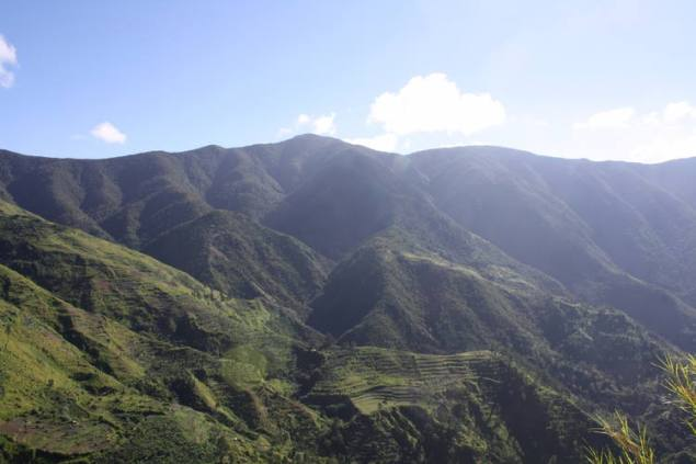 The Jamaican Blue Mountains.