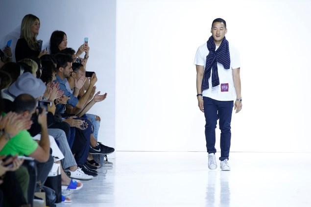 Richard Chai's runway show. (Photo: Courtesy)