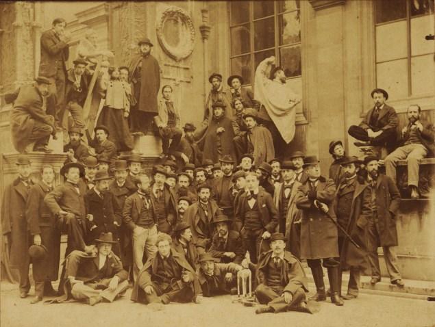 Studio of Gustave Moreau at the Ecole des Beaux-Arts circa 1892-98